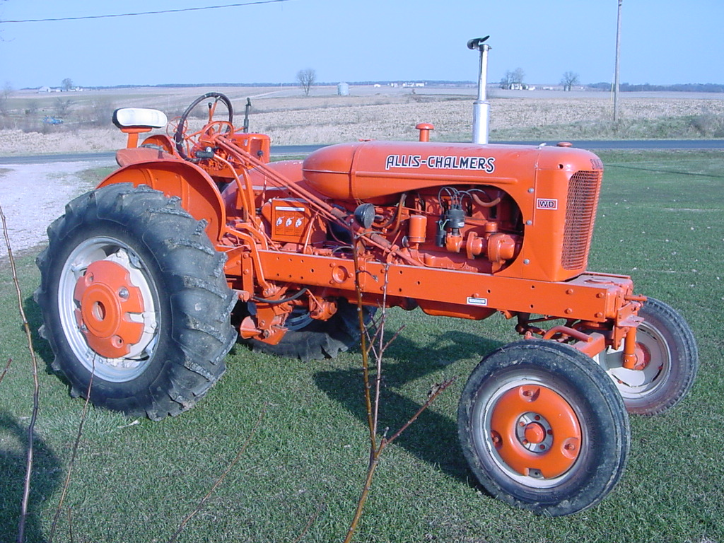 Dick Chatterton's 1953 Allis Chalmers WD