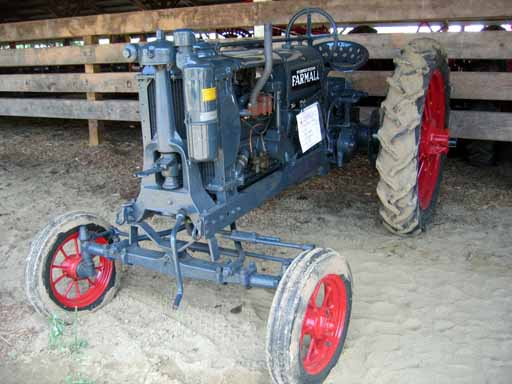 1935 Farmall F-12 with adjustable wide front axle